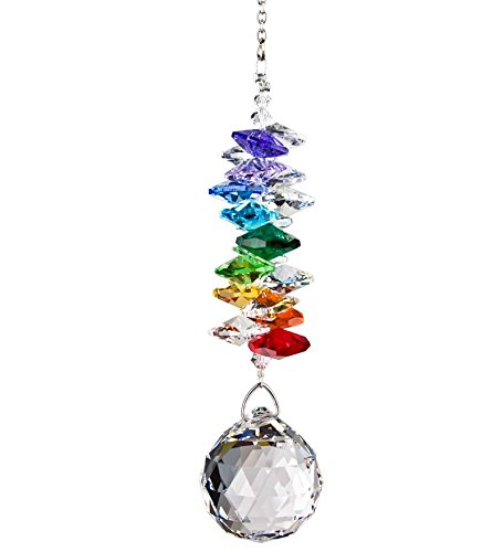 Woodstock Rainbow Crystal Grand Cascade- Rainbow Maker Collection (Musical Mobile Serenity)