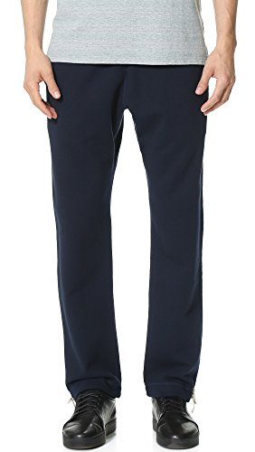 Reigning Champ Men's Mid Weight Terry Sweatpants, Navy, X-Large by Reigning Champ (Image #1)