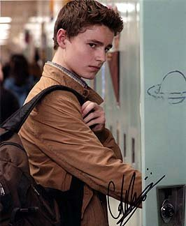 Callan Mcauliffe I Am Number Four 8x10 Celebrity Photo Signed In