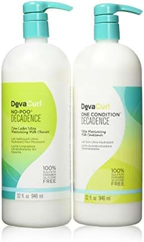 DevaCurl One Condition No-Poo Decadence 32oz DUO. NEW