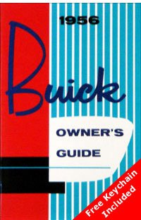 1956 Buick Owners Manual with Key Chain