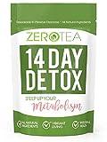 Zero Tea 14 Day Detox Tea, Teatox Herbal Tea for