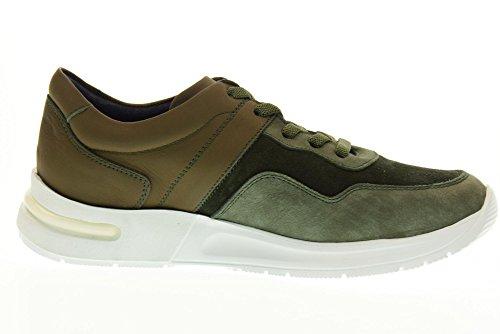 3 Donna 92101 Sneakers Marrone Verde Scarpe Callaghan Basse 5pwqXnI