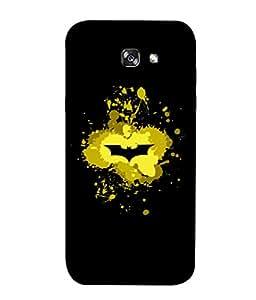 ColorKing Samsung A3 2017 Case Shell Cover - Batman Multi Color