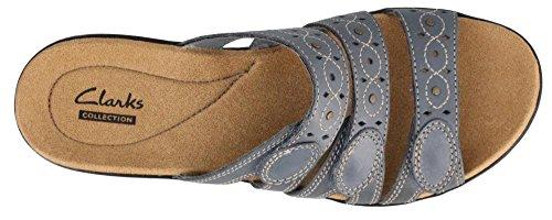 Clarks Leisa Cacti Womens Sandal 6.5 C/D US Blue