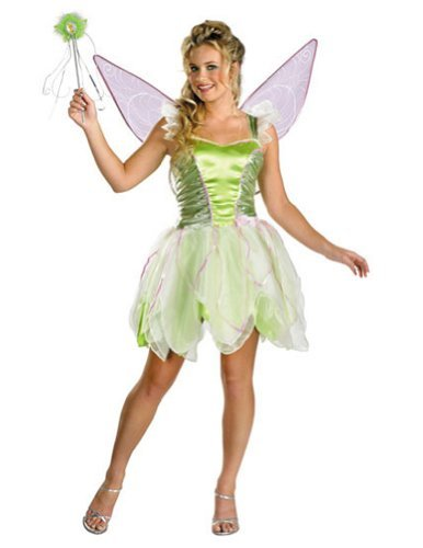 (Tinker Bell Deluxe Costume -)