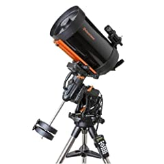 OTA contains Celestron's premium StarBright XLT coatings Mount holds up to 55 lb load capacity Spring-loaded brass worm wheel, stainless steel worm gear Two all-new dovetail clamping knobs +20° of additional tracking past the meridian Interna...