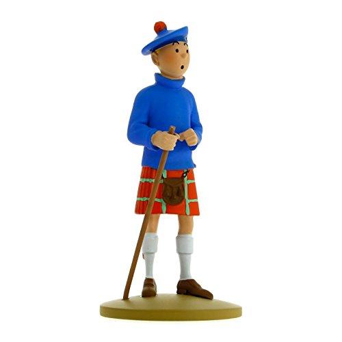 Collection figurine Tintin in a kilt 13cm Moulinsart 42192 (2015) (Tintin Toys)