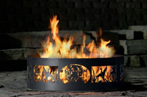 P&D Metal Works Lab Head Fire Ring For Sale
