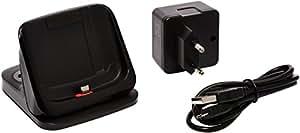 KiDiGi LX5-S95A-B - Estación de acoplamiento con acumulador para Samsung Galaxy S4 Active i9295, negro