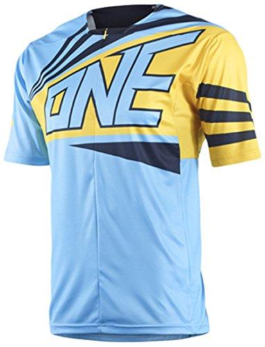 ONE(ワン) ION 1/4 ZIP JERSEY XC/TRAIL用 半袖ジャージ 3634000204005 ブルー XLサイズ   B00SLX9BA8
