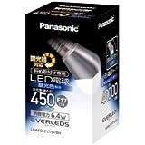 パナソニック EVERLEDS LED電球(調光器対応・E17口金・小形電球斜め取付専用形・電球40W相当・450ルーメン・昼光色相当)LDA6DE17DBH