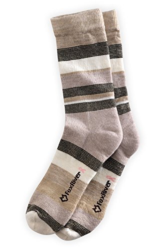 Fox River Women's Lightweight Stripe Merino USA-made Sock