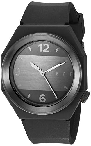 neff Unisex BKBKNF0225 Analog Display Chinese Automatic Black Watch
