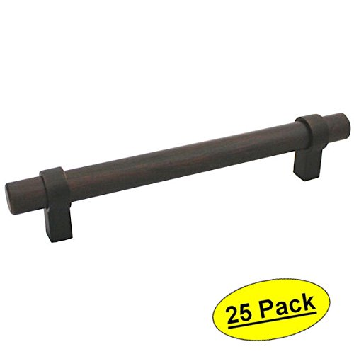 Cosmas 161-192ORB Oil Rubbed Bronze Cabinet Bar Handle Pull - 7-1/2'' (192mm) Hole Centers - 25 Pack by Cosmas