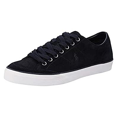 Polo Ralph Lauren Sherwin, Men's Men Sneakers, Black, 10.5 UK (44.5 EU) (816713116001)