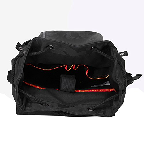Große Kapazität Rucksack gelegentlichen für Männer Jungen für Schule entspannte EN PLEIN AIR schwarz Schwarz
