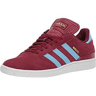 adidas Originals Men's Busenitz, Collegiate Burgundy/Clear Blue/White, 4 M US