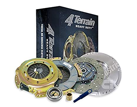 4Terrain Heavy Duty Clutch Kit | 4Terrain ER2 HD Cover Assembly | HD Clutch Plate for ...