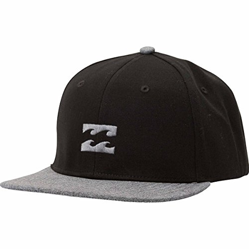 wholesale Billabong Boys' All Day Snapback Hat Black/Grey One Size on sale