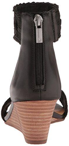 Lucky Brand Women's LK-Joshelle Wedge Sandal Black 4Tzwt7K
