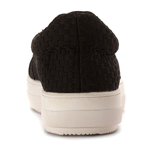 Mev Mev Mid Black Shoes Womens Dynasty Mid Bernie Loafers Womens Bernie IwxaxSZpqC