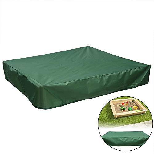 - Peedeu Dustproof Protection Sandbox Cover with Drawstring Waterproof Sandpit Pool Cover,Waterproof Sandpit Cover,Avoid The Sand and Toys Contamination, Green