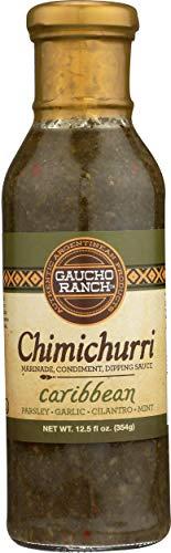 Guacho Ranch, Chimichurri Caribbean Sauce, 12.5 oz