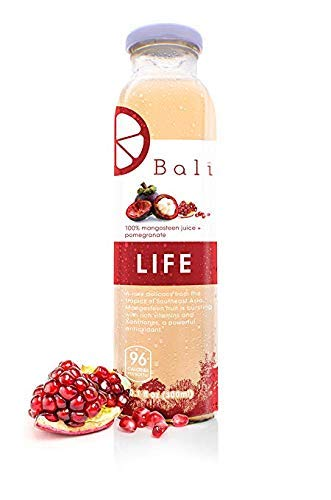 (Bali LIFE 100% Pure Mangosteen Juice + Pomegranate (6-Pack))