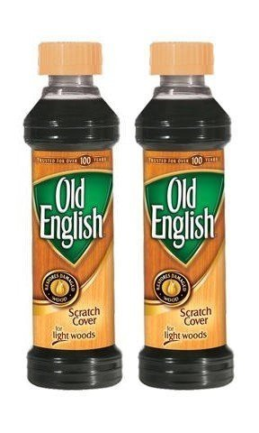 Old English Scratch Cover For Light Woods, 8 fl oz Bottle, Wood Polish (Pack of - Polish Scratches
