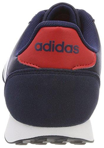 Adidas Herren V Racer 2.0 Gymnastikschuhe Blau (collegiale Marine / Ftwr Wit / Scarlet)
