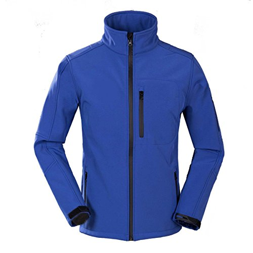 Blue Cappotto Uomo Antivento In Da Impermeabile Caldo Giacca Pile Royal rTrpBqz