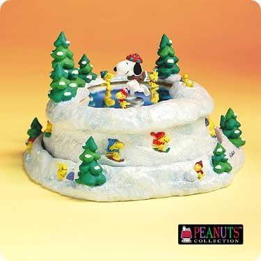 It s Nice on the Ice Musical Figurine