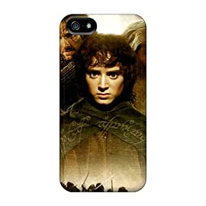 Iphone 5/5s WkH13214YgIW Custom Attractive Lord Of The Rings Skin Bumper Hard Cell-phone Case -LauraAdamicska