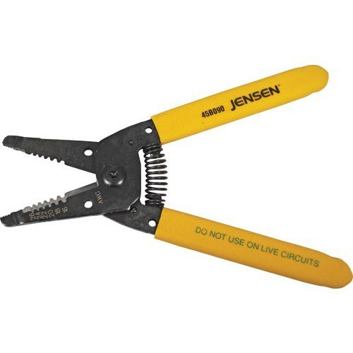 Jensen Tools 45-2785 Deluxe Stranded Wire Stripper 16-26 Awg by Jensen Tools