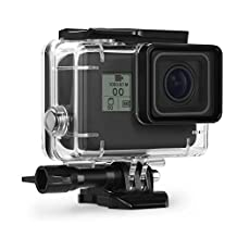 Kupton Housing Case for GoPro Hero 6 / 5 Black Waterproof Case Diving Protective Housing Shell 45m with Bracket Accessories for Go Pro Hero6 Hero5 Action Camera