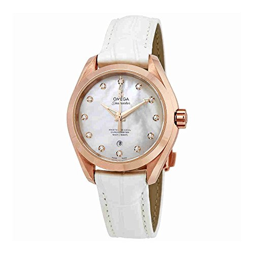 Omega Seamaster Aqua Terra Mother of Pearl Dial Ladies Watch 231.53.34.20.55.001