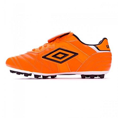 Bota de fútbol Umbro Speciali Eternal Premier AG Shocking orange-Black-White Shocking orange-Black-White