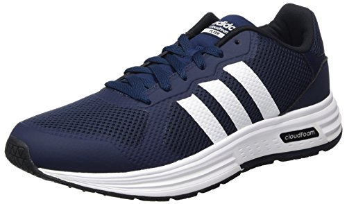 Adidas Cloudfoam Flyer Aw4259 Heren Schoenen Wit-navy Blue