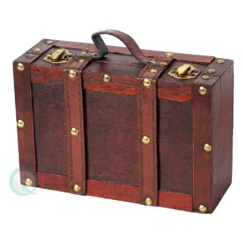 Amazon.com: cargo Vintage Travelers Mini Suitcases, Set of 3,Red ...