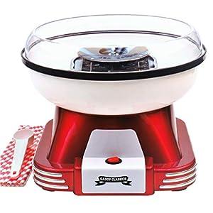 Gadgy ® Maquina de Algodon de Azucar | Retro Cotton Candy Machine | Usar Azúcar Regular de Caramelo Duro Sin Azúcar…