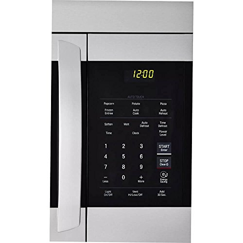 LG 30'' Stainless Over-The-Range Microwave (LMV1762ST) Stainless Steel/Black - New by LG (Image #3)