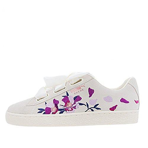 Flowery Puma Ref Suede 02 367811 Basket Heart wwtO1