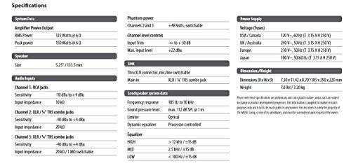 behringer eurolive b205d ultra-compact 150-watt pa  monitor speaker system