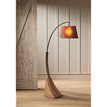 Cal Lighting Bo 2036 Floor Lamp With Mica Glass Shades