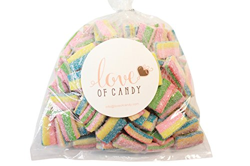 Price comparison product image Love of Candy Bulk Candy - Rainbow Licorice Cubes - 1lb Bag