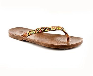 e252a1cee604 Guppy love womens black toepost sandal size shoes jpg 395x322 Guppy love  sandals
