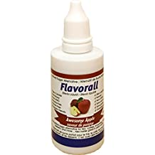 Flavorall Liquid Flavoured Stevia (Alcohol-Free), Awesome Apple, 50ml