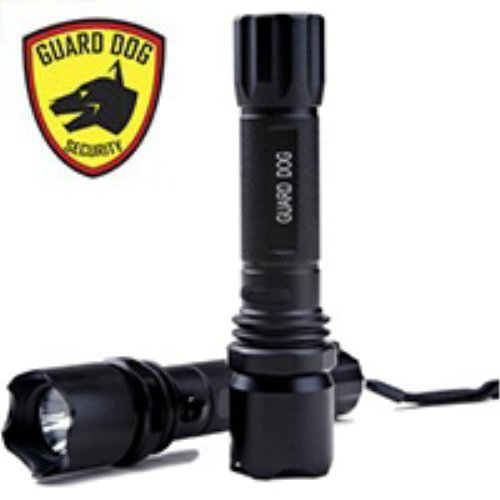 Guard Dog Security Vue 260 Tactical Flashlight with Car Charger 3 Light Functions