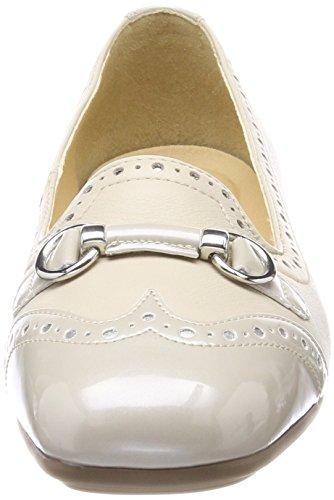 Geox D Annytah C, Bailarinas Para Mujer Beige (Cream)
